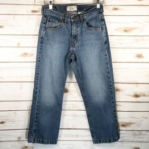 Levi Strauss Misses Size 6 High Rise Blue Capris